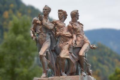 Denkmal beim Perschmannhof / Peršman | Info. 43